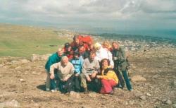 Med utsikt over Torshavn, Færøyene 2002